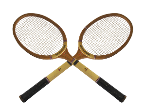 Old wood racquet 300x225