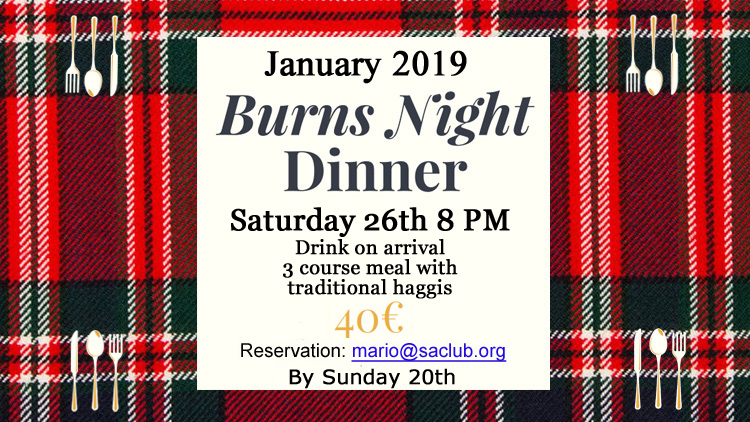 Burns Night Dinner 2019 750x422